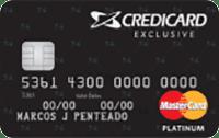 Logo Credicard Credicard Exclusive Mastercard Platinum
