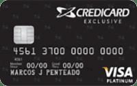 Logo Credicard Credicard Exclusive Visa Platinum