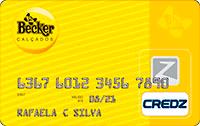 Logo Credz Cartão Becker