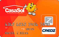 Logo Credz Cartão Casa Sol