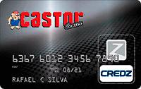 Logo Credz Cartão Castor Center Credz