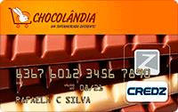 Logo Credz Cartão Chocolândia Credz