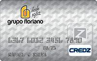 Logo Credz Cartão Grupo Floriano Credz