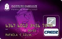 Logo Credz Cartão Instituto Embelleze Credz Nacional