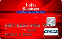 Logo Credz Cartão Lojas Renascer Credz
