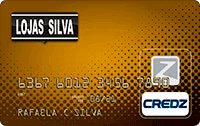 Logo Credz Cartão Lojas Silva Credz