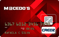 Logo Credz Cartão Macedo's Credz Nacional
