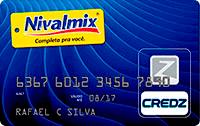 Logo Credz Cartão Nivalmix