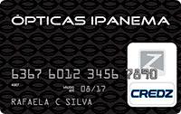 Logo Credz Cartão Óticas Ipanema Credz