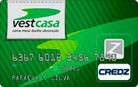 Logo Credz Cartão VestCasa