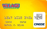 Logo Credz Cartão Village