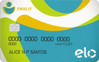 Logo Ewally Cartão Pré-Pago Ewally Elo Nacional
