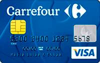 Logo Hipermercado Carrefour Cartão Carrefour Visa Nacional