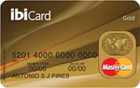 Logo Ibi Cartão IbiCard Mastercard Gold Internacional