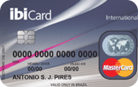 Logo Ibi Cartão IbiCard Mastercard Internacional