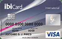 Logo Ibi Cartão IbiCard Visa Internacional