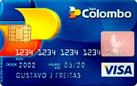 Logo Lojas Colombo Cartão Lojas Colombo Bradescard Visa Nacional