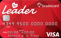 Logo Lojas Leader Cartão Leader Bradescard Visa Nacional