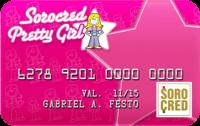 Logo Sorocred Cartão de Crédito Sorocred - Pretty Girl