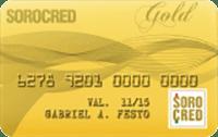 Logo Sorocred Cartão Gold