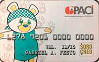 Logo Sorocred Cartão Solidário Sorocred GPACI