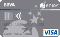 Logo BBVA Visa Enjoy