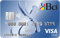 Logo Banco BCI Tarjeta de Crédito Visa Classic