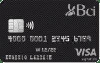 Logo Banco BCI Bci Visa Signature