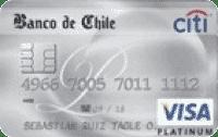 Logo Banco de Chile Banco de Chile Travel Visa Platinum