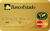 Logo Banco Estado Mastercard Gold
