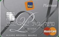 Logo Banco Itaú Itaú Mastercard Platinum