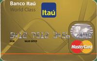 Logo Banco Itaú MasterCard World Class