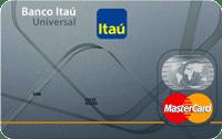 Logo Banco Itaú Universal Mastercard