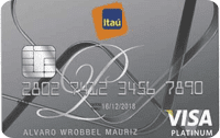 Logo Banco Itaú Visa Platinum