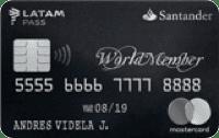Logo Banco Santander WorldMember LATAM Pass MasterCard
