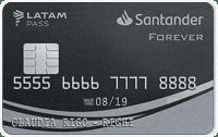 Logo Banco Santander Forever Santander LATAM pass