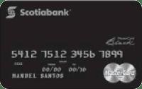 Logo Scotiabank Cencosud MasterCard Black