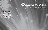 Logo Banco AV Villas Mastercard Platinum