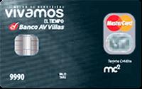 Logo Banco AV Villas Vivamos el Tiempo Platino
