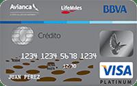Logo Banco BBVA Avianca LifeMiles Platinum