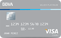 Logo Banco BBVA Mujer Platinum