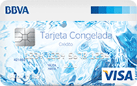 Logo Banco BBVA Visa Congelada