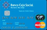 Logo Banco Caja Social Mastercard Clásica