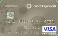 Logo Banco Caja Social Visa Platinum