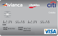 Logo Banco Citibank Avianca LifeMiles Platinum