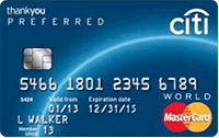 Logo Banco Citibank Thank You Preferred Mastercard
