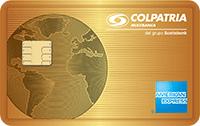 Logo Banco Colpatria American Express Oro