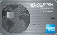 Logo Banco Colpatria American Express Platinum