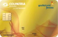 Logo Banco Colpatria Gas Natural Oro