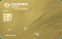Logo Banco Colpatria Mastercard Oro
